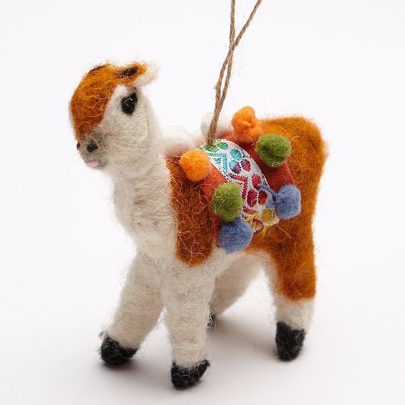 Anthropologie Other - Anthropologie Llama ornament